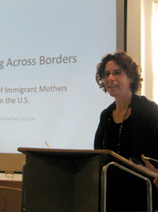Heather Hewett speaking